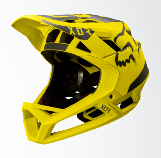 Fox Proframe Moth 2017 Mips Mtb Helmet Dark Yellow