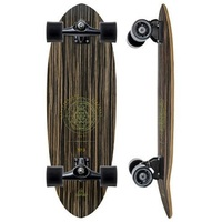 "CARVER SKATEBOARD COMPLETE - HAEDRON 3 - 30"" - CX TRUCKS BLACK"