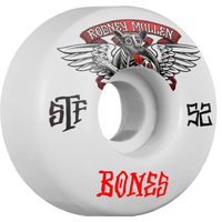 BONES WHEELS STF MULLEN WINGED MUTT 52MM (SET OF 4)