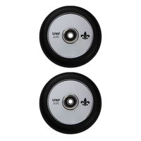UNFAIR 110MM HOLLOW CORE SCOOTER WHEELS - CHROME