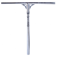 PHOENIX SESSION SCOOTER BARS - OVERSIZED - CHROME