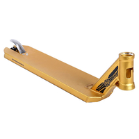 "PHOENIX ION SCOOTER DECK - 5"" GOLD ANODISED"