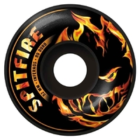 SPITFIRE SKATEBOARD WHEELS - INFERNOS BLACK - 52MM