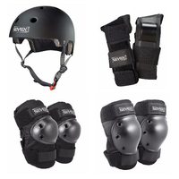 SEVEN SKATES HELMET AND PROTECTIVE PAD COMBO - SMALL/MEDIUM