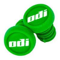 ODI BAR ENDS PLUGS - SOLD AS PAIRS - GREEN