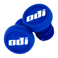 ODI BAR ENDS PLUGS - SOLD AS PAIRS - BLUE