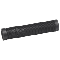 SUNDAY CORNERSTONE BMX OR SCOOTER GRIPS - BLACK