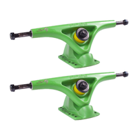 BEAR GRIZZLY LONGBOARD TRUCKS 181MM - MATTE GREEN