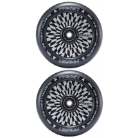 FASEN 120MM HOLLOW CORE SCOOTER WHEELS SET OF 2 - OFFSET BLACK
