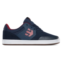 ETNIES KIDS SKATE SHOE - MARANA - BLUE / RED / WHITE