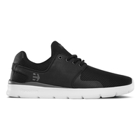 ETNIES MENS SKATE SHOE - SCOUT XT - BLACK / WHITE / GREY