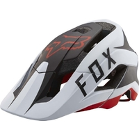 FOX METAH FLOW 2017 - MTB HELMET - WHITE/BLACK/RED