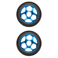 DOWNSIDE CONSPIRACY 110MM SCOOTER WHEELS SET OF 2 - BLUE