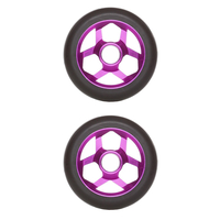 DOWNSIDE CONSPIRACY 110MM SCOOTER WHEELS SET OF 2 - PURPLE