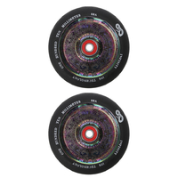 INFINITY 110MM SCOOTER WHEELS SET OF 2 WITH BEARINGS - NEO