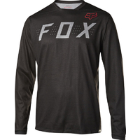 FOX INDICATOR LS 2017 - MTB JERSEY - HEATHER BLACK
