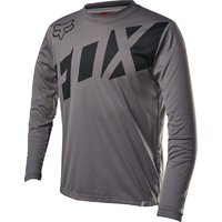 FOX YOUTH RANGER LS 2017 - MTB JERSEY - GREY