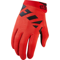 FOX YOUTH RANGER 2017 - MTB GLOVES - RED BLACK