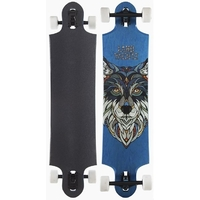 LANDYACHTZ LONGBOARD SKATEBOARD COMPLETE - NINE TWO FIVE - WOLF