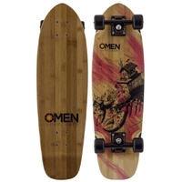 OMEN CRUISER SKATEBOARD COMPLETE - HOUSE 'O' LOBSTER - 2017 RANGE