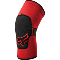 FOX MENS LAUNCH 2017 - MTB ENDURO KNEE PADS - RED