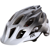 FOX FLUX RACE 2015 - MTB HELMET - WHITE BLACK