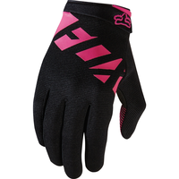 FOX WOMENS RANGER 2017 - MTB GLOVES - BLACK PINK