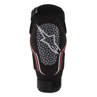 ALPINESTARS ALPS 2 - MTB KEVLAR ELBOW PADS - BLACK / WHITE / RED