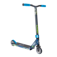 CRISP COMPLETE SCOOTER - MY17 BLASTER MINI SCOOTER - DARK BLUE METALLIC
