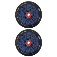 INFINITY 120MM SCOOTER WHEELS SET OF 2 WITH BEARINGS - POLYNESION