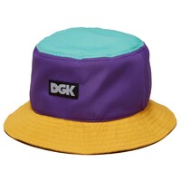 DGK HAT CAP - PURPLE ORANGE - SNAPBACK ADJUSTABLE