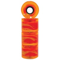 PENNY SKATEBOARD WHEELS - ORANGE PLASMA - 59MM - 83A