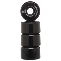 Z-FLEX Z-SMOOTH SKATEBOARD WHEELS SOLID BLACK