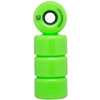 Z-FLEX Z-SMOOTH SKATEBOARD WHEELS SOLID GREEN