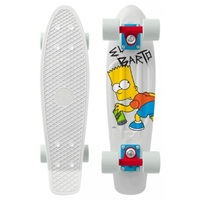 "PENNY SKATEBOARD COMPLETE 22"" EL BARTO - SIMPSONS COLLECTION"
