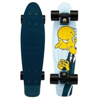"PENNY SKATEBOARD COMPLETE 22"" MR BURNS EXCELLENT - SIMPSONS COLLECTION"