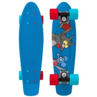 "PENNY SKATEBOARD COMPLETE 22"" ITCHY & SCRATCHY - SIMPSONS COLLECTION"