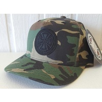 INDEPENDENT TRUCK CO SNAPBACK CAMO HAT