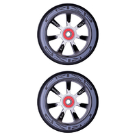 CRISP HOLLOWTECH 100MM WHEEL SET - BLACK BLACK