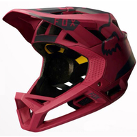 FOX PROFRAME MOTH - 2017 MIPS - MTB HELMET - DARK RED