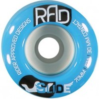 RAD GLIDE 70MM 82A BLUE LONGBOARD SKATEBOARD WHEELS