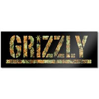 GRIZZLY SKATEBOARD STICKER - TOREY KUSH X 1