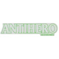 ANTI HERO LONG STICKER X 1 GREEN OUTLINE