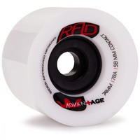 RAD ADVANTAGE 74MM 78A LONGBOARD SKATEBOARD WHEELS
