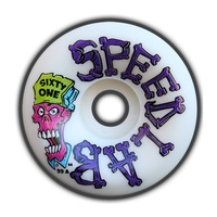 SPEED LABS SKATEBOARD WHEELS - BOBBY BROWN - 61MM