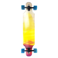 "ARK DOWNHILL SUNSET 39"" DROPTHROUGH LONGBOARD SKATEBOARD COMPLETE"