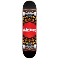 "ALMOST COMPLETE SKATEBOARD AZTEC GEO 8"" WIDE"