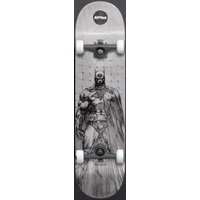 "ALMOST COMPLETE SKATEBOARD BATMAN JIM LEE RESIN PREMIUM 8"" WIDE"