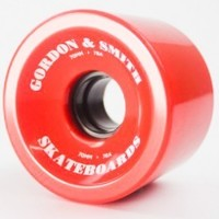 G & S WHEELS 70MM 78A TRADITIONAL RED