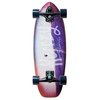 CARVER SKATEBOARD COMPLETE - KERRZY SNAPPER WITH C7 TRUCKS BLACK